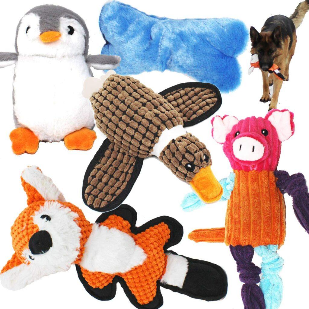 Animal Squeaky Toys