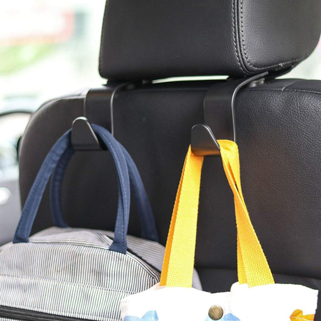 Backseat Headrest Hooks