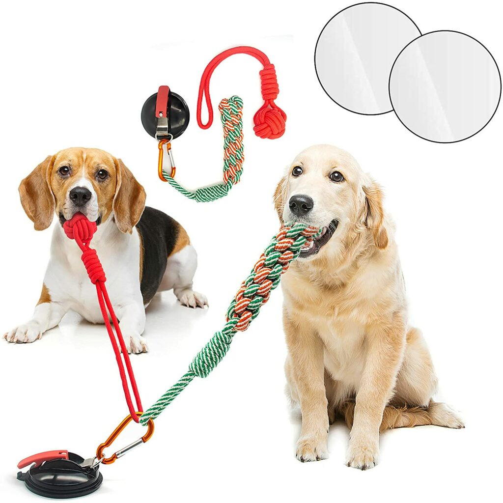 Suction Cup Dog Toy Rope