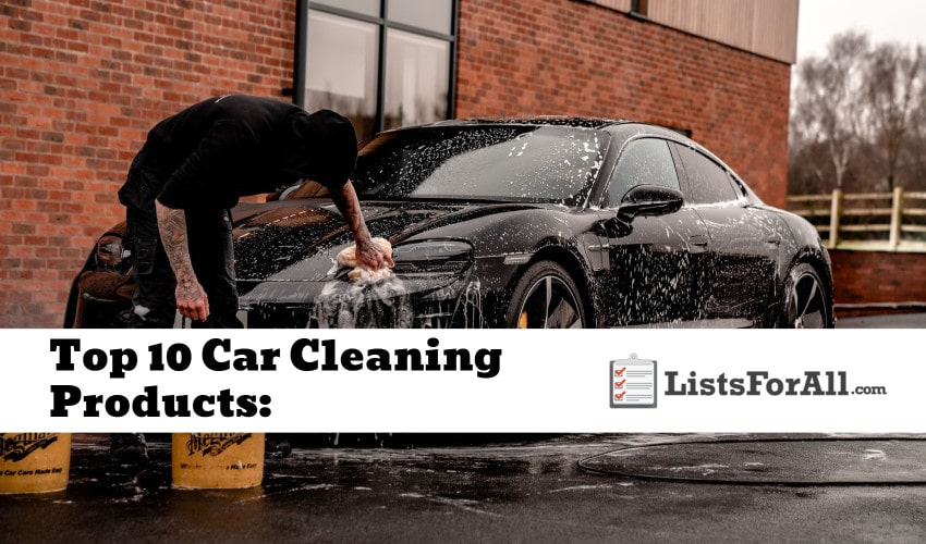 Best Car Cleaning Products