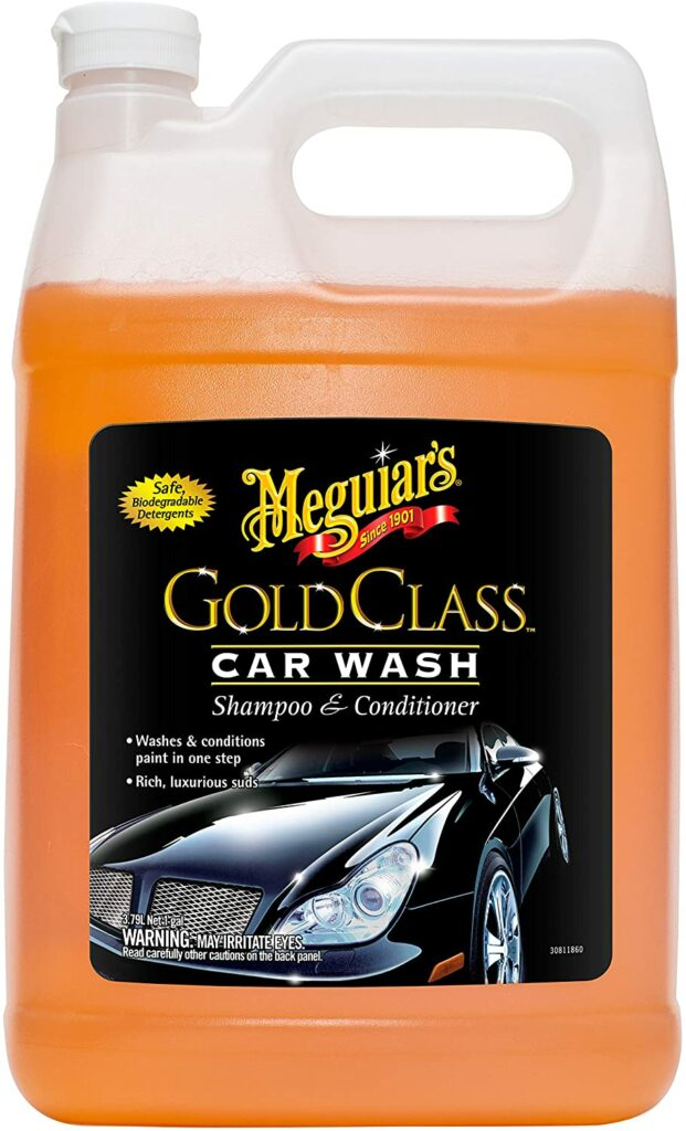 Gold Class Car Wash Soap